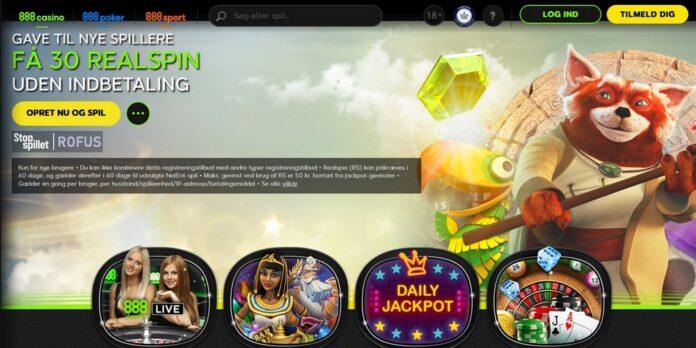Anmeldelse af 888 Casino